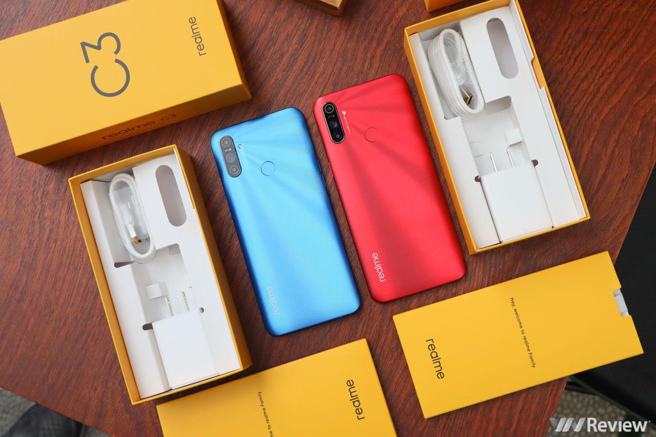 Trên tay Realme C3 sắp bán tại Việt Nam: đối thủ đáng gờm của Vsmart Joy 3