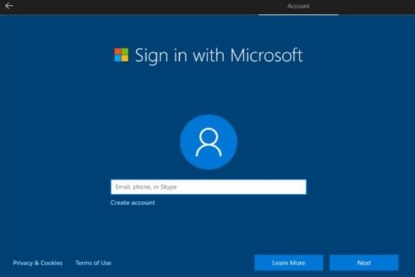 Việc cấu hình Windows 10 không cần tài khoản Microsoft sẽ ngày càng khó khăn hơn