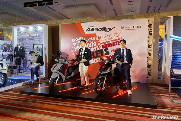 Piaggio Medley 2020 giá từ 75 triệu đồng, bán từ đầu tháng 3/2020