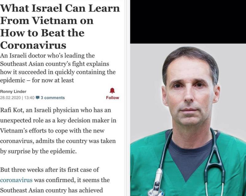 Bác sỹ Isarel xin lỗi Bộ Y tế Việt Nam