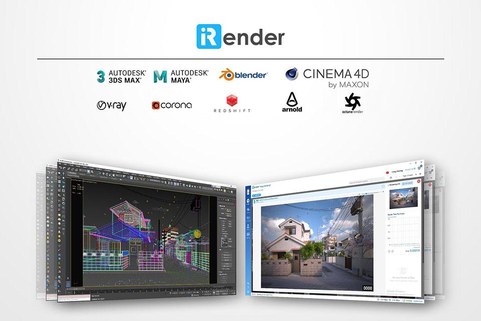 Đánh giá tính năng Cloud Rendering của iRender
