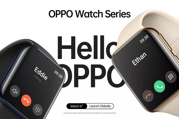 """Oppo sẽ ra mắt smartwatch đầu tiên vào 6/3: là chiếc """"Apple Watch"""" có thể nghe gọi, chạy Android"""