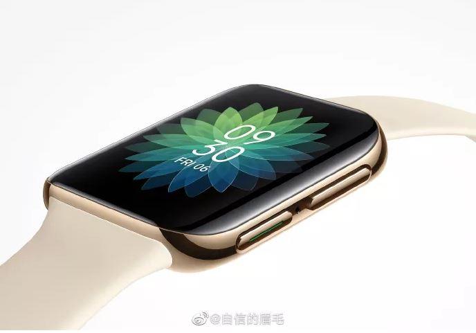 Smartwatch của Oppo trông gần giống hệt Apple Watch
