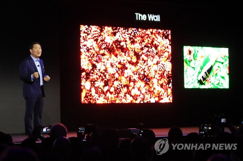 Samsung sắp bán ra TV microLED
