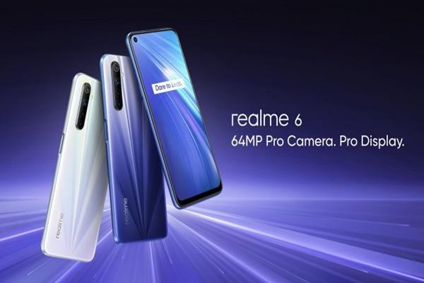 Realme 6 và Realme 6 Pro ra mắt: cảm biến 64 MP, sạc 30W, màn hình 90Hz