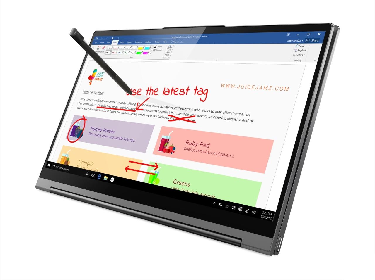 """Lenovo ra mắt laptop """"biến hình"""" cao cấp Yoga C940, có cả camera tai thỏ, màn hình 4K HDR, bút stylus như Spen, giá 50 triệu đồng"""