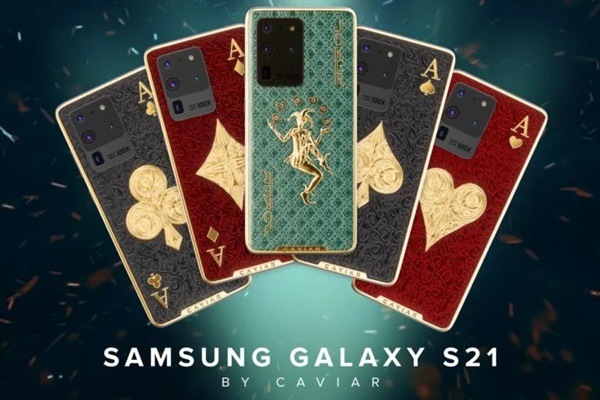 Caviar trình làng Galaxy S21, phiên bản Galaxy S20 Ultra được bọc vàng