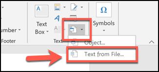 Cách gộp nhiều file tài liệu Word lại thành một