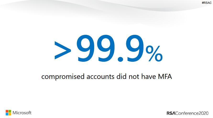 Microsoft: 99,9% số tài khoản bị hack không sử dụng chức năng xác thực nhiều yếu tố