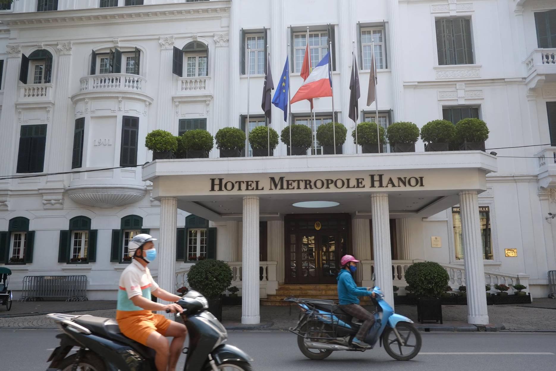 Khách sạn Metropole Hà Nội tạm dừng hoạt động vì nghi có người nhiễm SARS-CoV-2 lưu trú