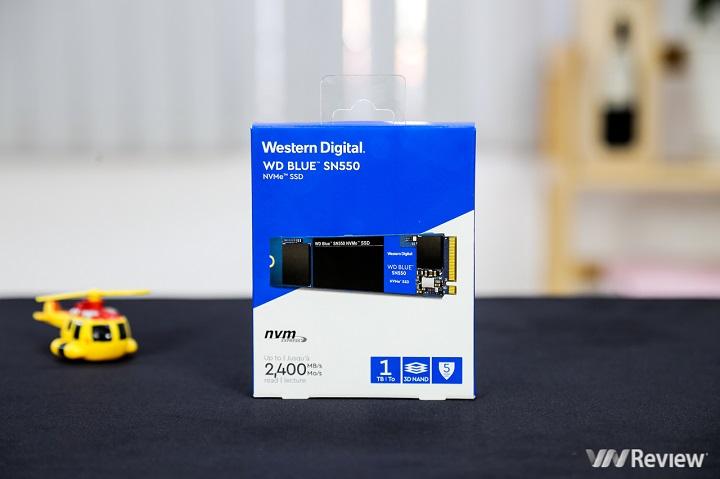 Đánh giá WD Blue SN550 1TB: Chiếc SSD NVMe ngon bổ rẻ bất ngờ