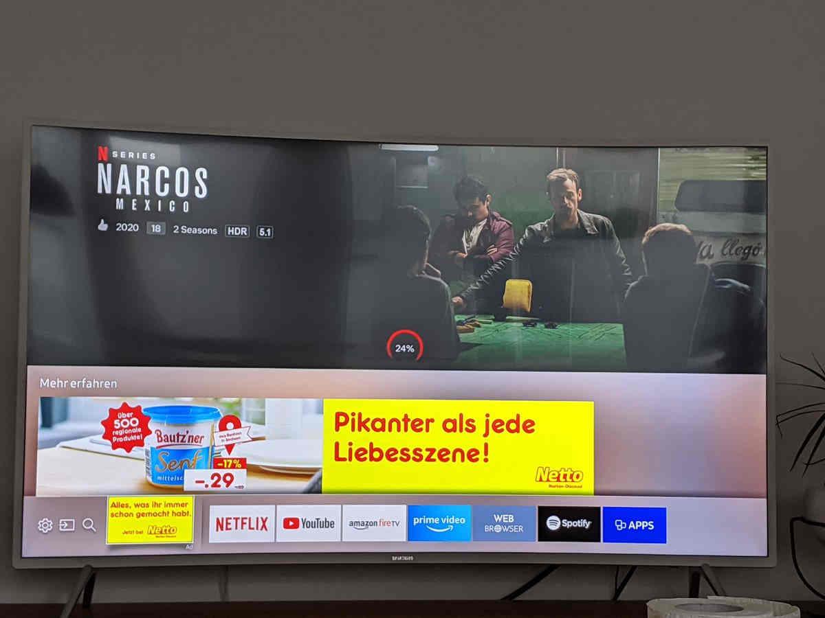 Người dùng phản ứng khi TV Samsung bị biến thành công cụ hiển thị quảng cáo