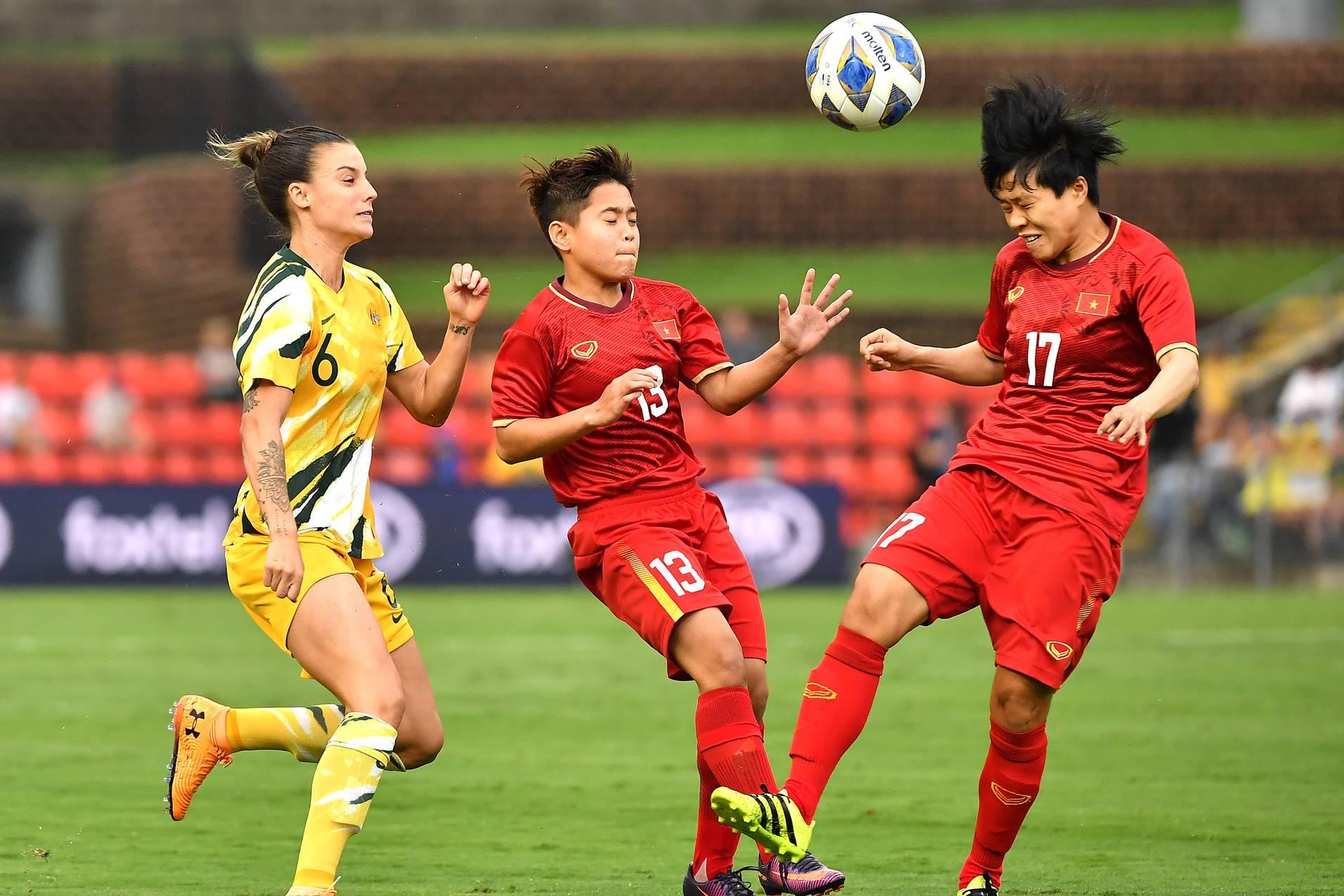 Nữ Việt Nam đấu với Úc ngày 11/3 mấy giờ đá?