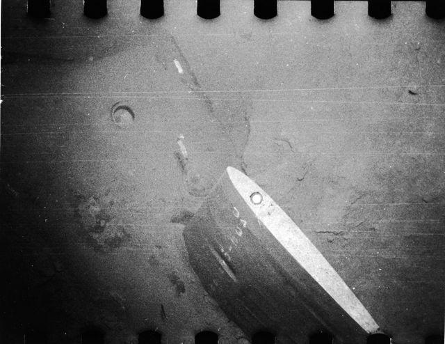 Cánh lái của tàu Thresher sau vụ đắm tàu (Ảnh: Pictorial Parade/Getty Images)