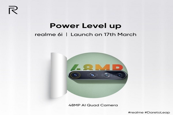 Realme 6i sẽ sở hữu 4 camera sau, cảm biến chính 48 MP