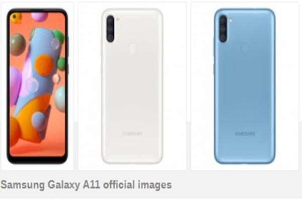 Samsung Galaxy A11 âm thầm ra mắt với màn hình đục lỗ