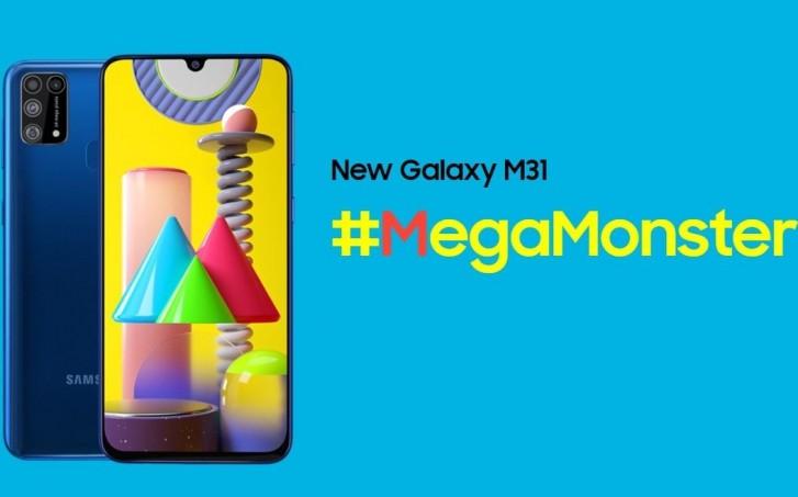 Samsung Galaxy M31 pin 6.000mAh lên kệ ở Việt Nam, giá 6.49 triệu đồng