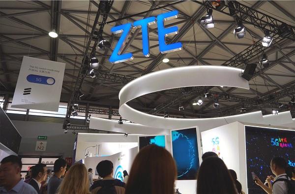 Cổ phiếu ZTE giảm 23% sau tin Mỹ điều tra ZTE hối lộ