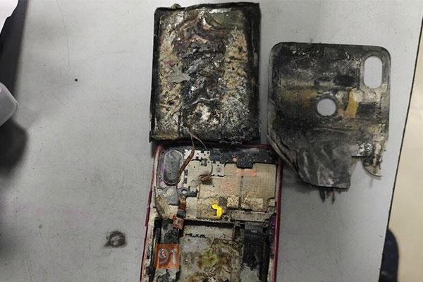 Redmi Note 7 Pro nổ, cháy đen sì, nhưng Xiaomi chối trách nhiệm