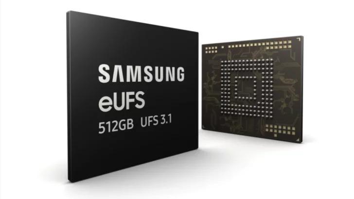 Samsung bắt đầu sản xuất đại trà bộ nhớ lưu trữ nhanh nhất cho các chiếc điện thoại flagship