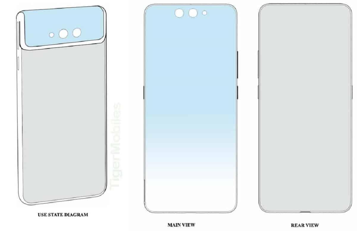 Xiaomi đăng ký một bằng sáng chế thiết kế điện thoại vỏ sò mới với cơ chế camera lật độc đáo