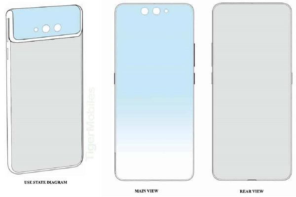 Xiaomi đăng ký sáng chế điện thoại camera trước sau như một