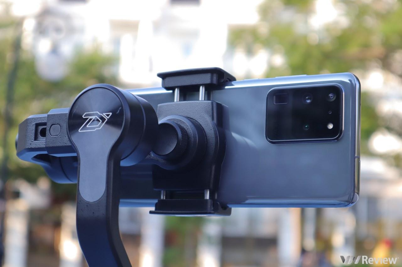 Đánh giá tính năng quay video 8K trên Galaxy S20 Ultra