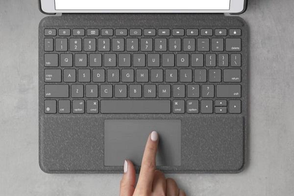Logitech ra mắt bàn phím có tích hợp trackpad cho iPad Pro, rẻ hơn nhiều so hàng chính chủ