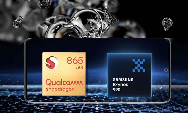 So hiệu năng Galaxy S20+ dùng Snapdragon 865 và Exynos 990: khác biệt lớn thế nào?