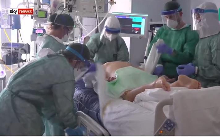Cận cảnh bệnh viện ở Ý, nơi bệnh nhân Covid-19 vô phương cứu chữa