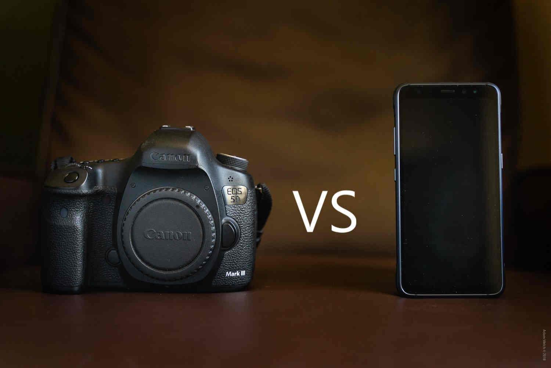 """Smartphone đang """"giết"""" dần máy ảnh compact và DSLR giá rẻ"""