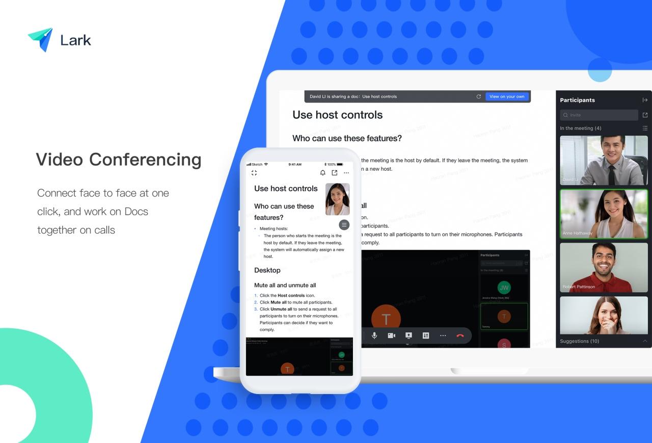 Cha đẻ của TikTok tung ra Lark: app miễn phí chuyên dụng cho làm việc, học tập tại nhà giữa đại dịch Covid-19, cạnh tranh với Zoom