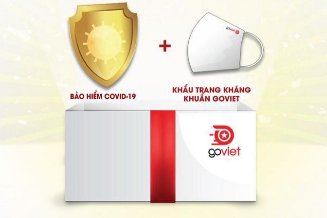 GoViet ra mắt GoShield: bảo hiểm Covid-19 cho tài xế với mức bồi thường tối đa 100 triệu, phí từ 45 nghìn đồng