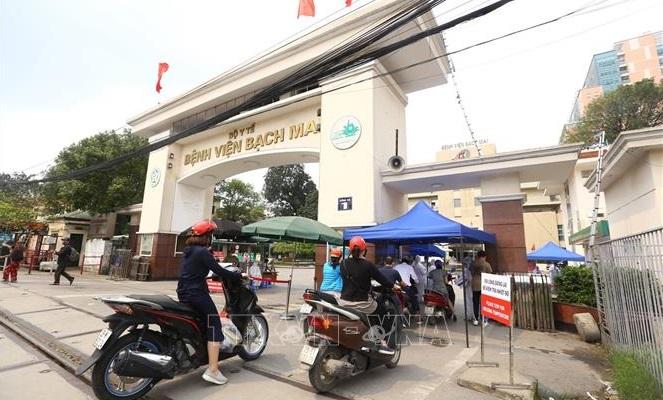 Đã cách ly và kiểm soát hết người đã đến Bệnh viện Bạch Mai