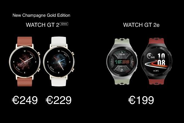 Không chỉ P40, Huawei còn ra mắt smartwatch mới cùng loa không dây đầu tiên của mình