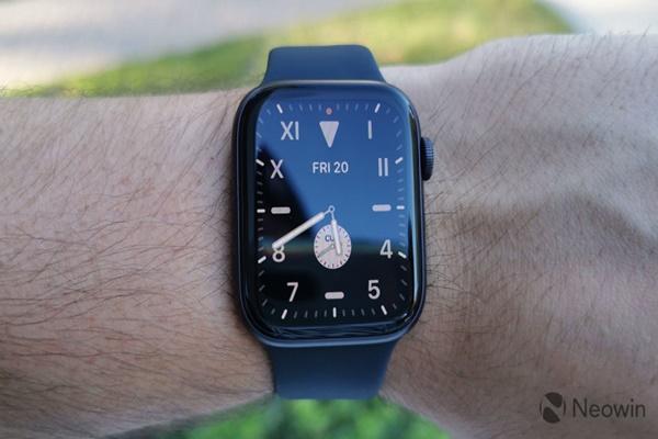 Apple Watch có thể có Touch ID dưới màn hình