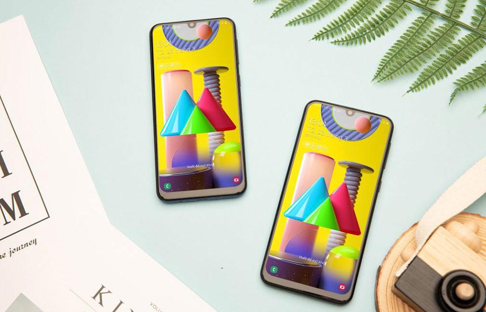 Galaxy M21 lên kệ ở Việt Nam: màn AMOLED 6.4 inch, pin 6.000 mAh, giá 5,49 triệu đồng
