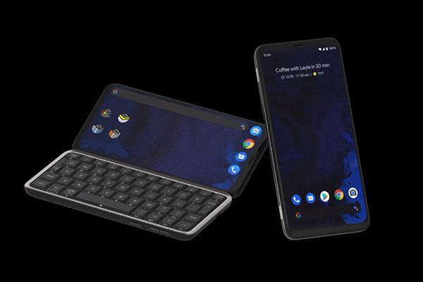 Mẫu smartphone này vừa có bàn phím trượt, mạng 5G