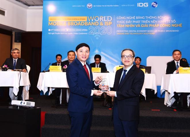Viettel nhận giải chất lượng băng thông rộng di động tốt nhất Việt Nam