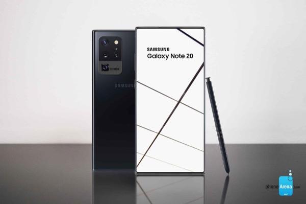 Galaxy Note 20 lộ thiết kế, cụm camera vuông giống S20