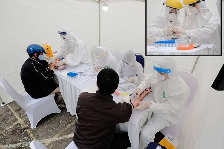 3 ca nghi dương tính với SARS-CoV-2 qua test nhanh ở Hà Nội đều đã có kết quả âm tính