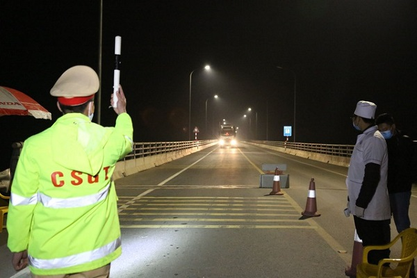 Danh sách 30 chốt kiểm soát dịch tại cửa ngõ Hà Nội