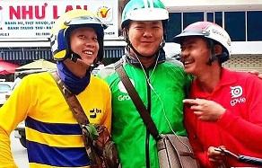 """Grab, GoViet, Be tạm dừng hoạt động ở Hà Nội trong thời gian """"cách ly toàn xã hội"""""""