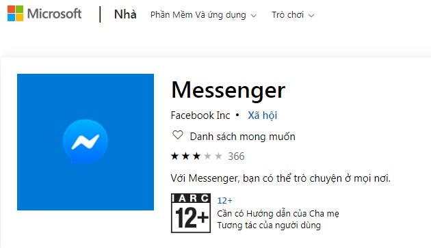 Tải về Facebook Messenger cho desktop