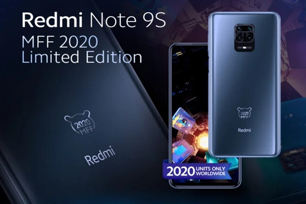 Xiaomi giới thiệu Redmi Note 9S MFF 2020 Limited Edition
