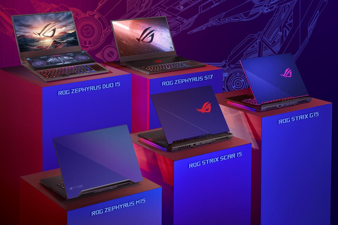 Asus tung loạt laptop gaming với tản nhiệt kim loại lỏng, tùy chọn tối đa màn hình 300Hz, Intel Core i9-10980HK, RTX 2080 SUPER