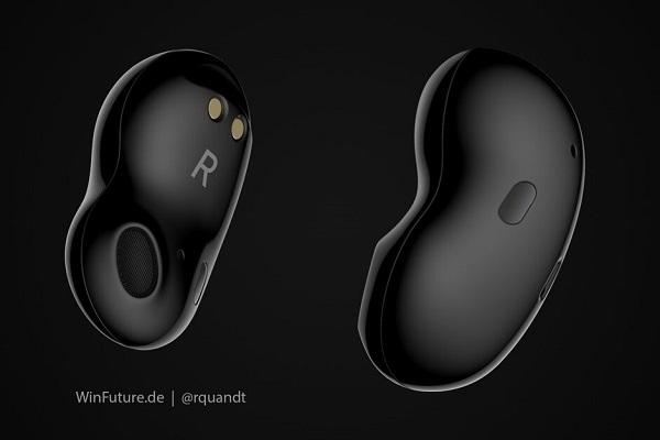 Rò rỉ Samsung Galaxy Buds thế hệ tiếp theo: thiết kế hoàn toàn mới, không có nút nhét tai silicon