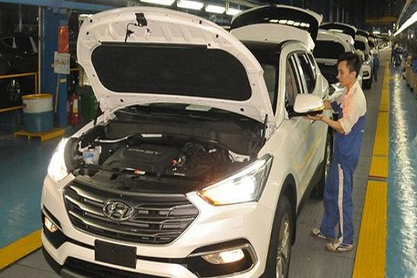 Sản xuất ô tô dưới 9 chỗ được gia hạn thuế, tiền thuê đất