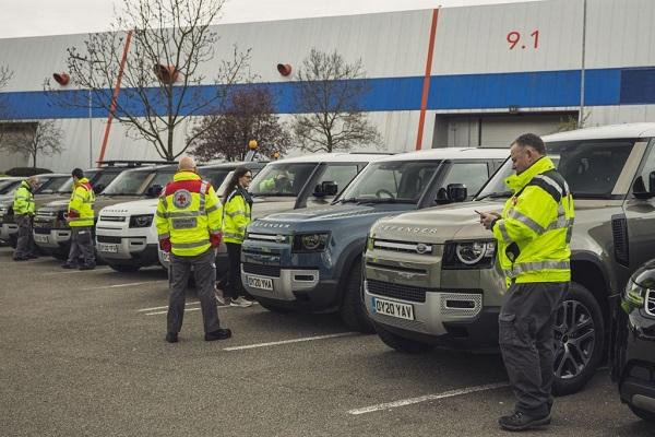 Hơn 160 xe Jaguar và Land Rover được điều động ứng cứu trong đại dịch Covid-19