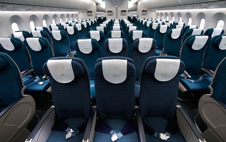 Khách đi máy bay được giảm giá mua thêm các ghế trống xung quanh